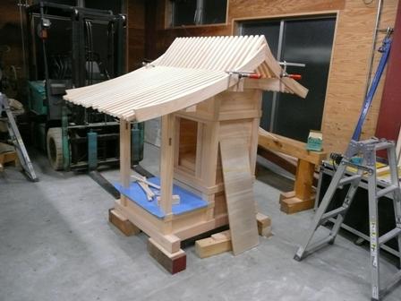 化粧垂木・破風板