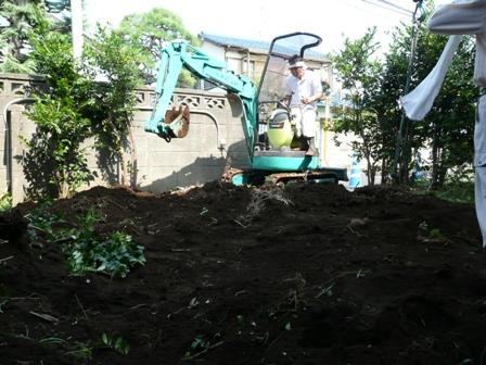 植栽移動・伐根